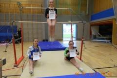 Alena Wagner, Luisa Hach, oben Miriam Knura